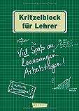 Kritzelblock für Lehrer