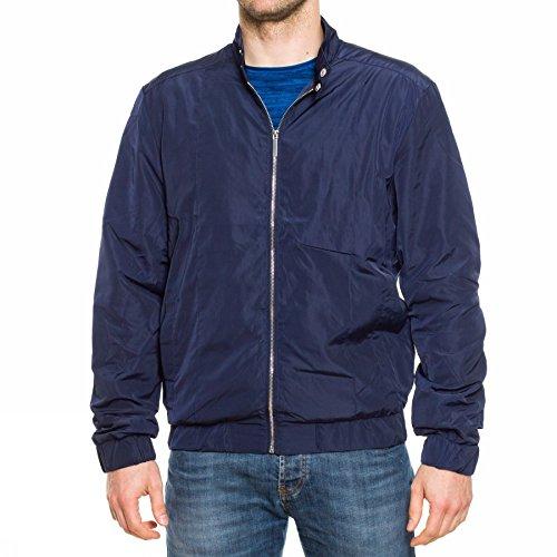 Tailored & Originals Rook Moor giacca a vento Dunkelblau L