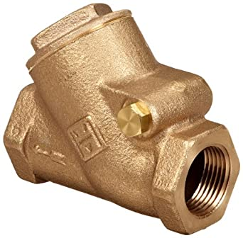 Milwaukee Valve 508 Series Bronze Swing Check Valve, Class 200, NPT Female