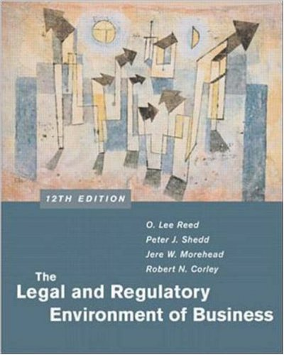 The Legal and Regulatory Environment of Business w/ PowerWeb