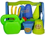 Kids Garden Play Set Toy Watering Can...