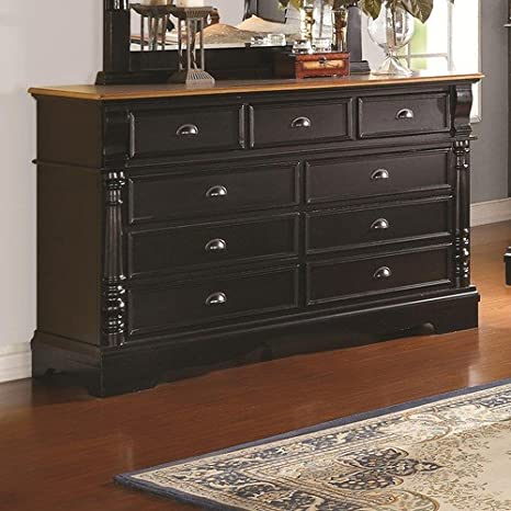 Oleta Dresser With 9 Drawers And Bracket Feet By Coaster Furniture