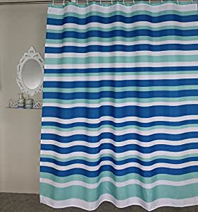 Amazon Shower Curtains Stall Stripes Stripe Shower