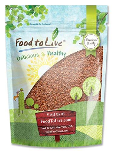 Food To Live Whole Flaxseed (Flax Seeds Bulk) (2 Pounds) (Flax Seed Roasted compare prices)