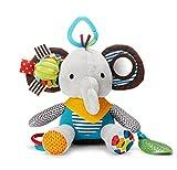 YUNNASI ベビー キッズ 音が鳴る 赤ちゃん玩具 布のおもちゃ 子供向け 知育遊具 多機能おもちゃ 象