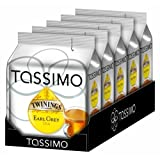 Tassimo Twinings Earl Grey - Pack of 5 (80 t disc / Servings) t disc