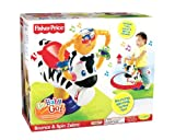 Fisher-Price Go Baby Go! Bounce & Spin Zebra