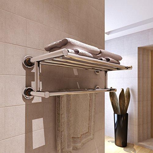 Porta asciugamani in acciaio inox 6 barre