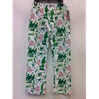 Flow Society Lacrosse Cotton Lounge Pants Flow Squad Army Youth Small