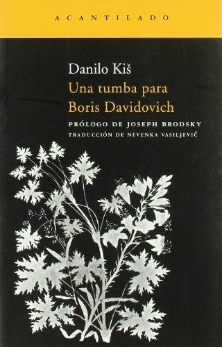 Una Tumba Para Boris Davidovich