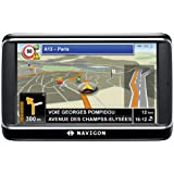NAVIGON 40 Premium Navigationssystem (10,9cm (4,3 Zoll) Display, Europa 43, TMC, Bluetooth2.0, One Click Menu, Aktiver Fahrspurassistent, TTS)