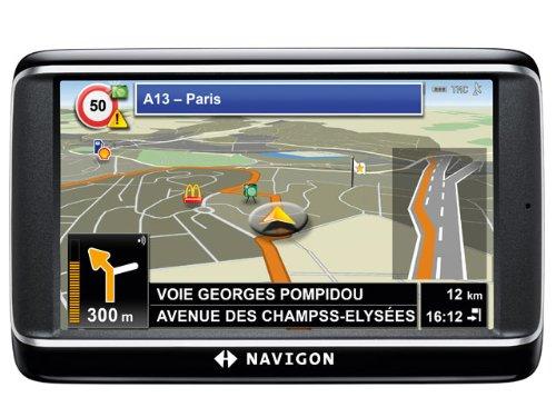 NAVIGON 40 Premium Navigationssystem (10,9cm
