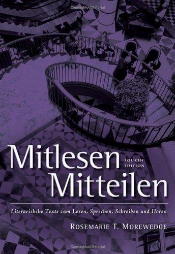 Mitlesen Mitteilen: Literarische Texte zum Lesen,...