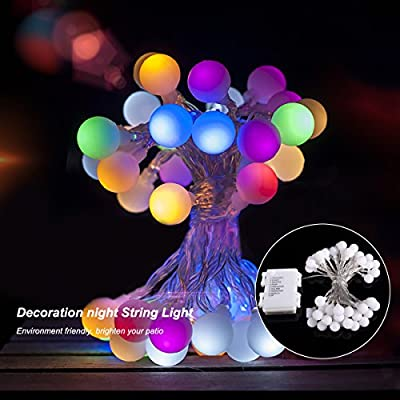 ProGreen 19 Feet/40 LEDs String Lights, Led Fairy Lamps Decorative String Light