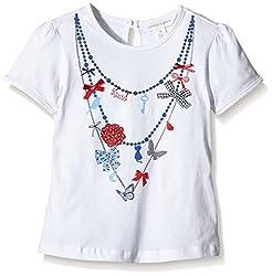 Pumpkin Patch Girls' T-Shirt (S5TG11005_Milk_4)