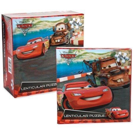 Cardinal - Disney Cars 2 Lenticular Puzzle