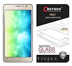 Chevron Premium Tempered Glass Screen Protector Skin Cover for Samsung Galaxy On5 Pro