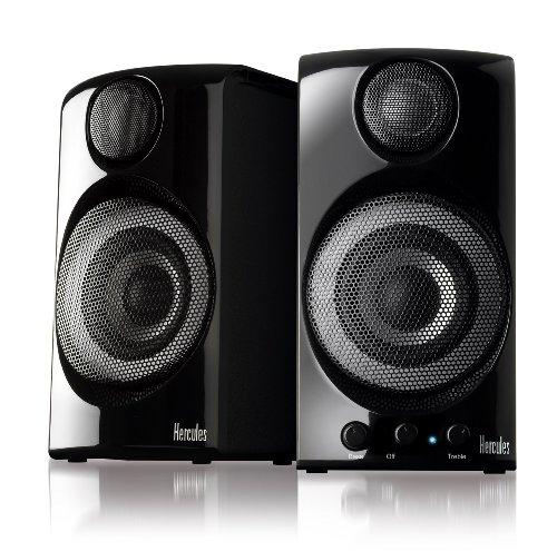 Hercules 4780509 XPS 2.0 60 2.0 Multimedia Speakers (Black)