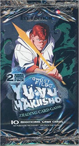Yu Yu Hakusho Ghost Files 1st Edition Trading Card Booster Pack CCG TCG