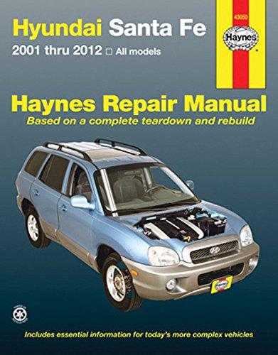 hyundai-sante-fe-automotive-repair-manual-2001-through-2012