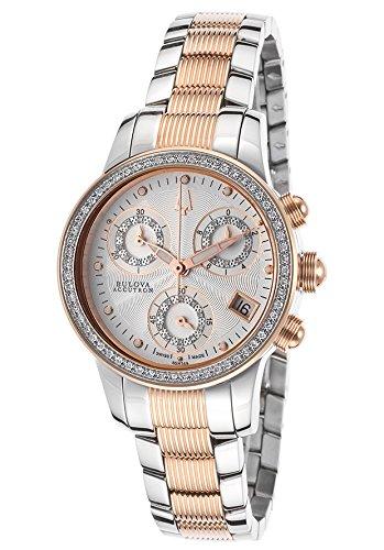 Price Comparisons Accutron by Bulova Women's ACCUTRON-65R149 Masella Silver-Tone Watch