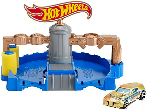 Hot Wheels Clean Ride Car Wash Playset (Hot Wheels City Carwash compare prices)