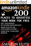 200 Places To Advertise Your Book For...