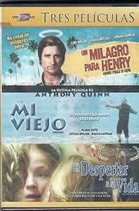 Un Milagro Para Henry [Henry Poole Is Here] & Mi Viejo [Oriundi] & El Despertar De La Vida [Sea of Silence] [Ntsc/region 1 and 4 Dvd. Import - Latin America].
