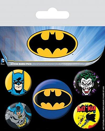 Batman Spilla Pin Badges 5 Pack Pyramid International