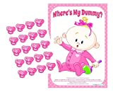 Wheres My Dummy? Baby Shower Game (Pink)