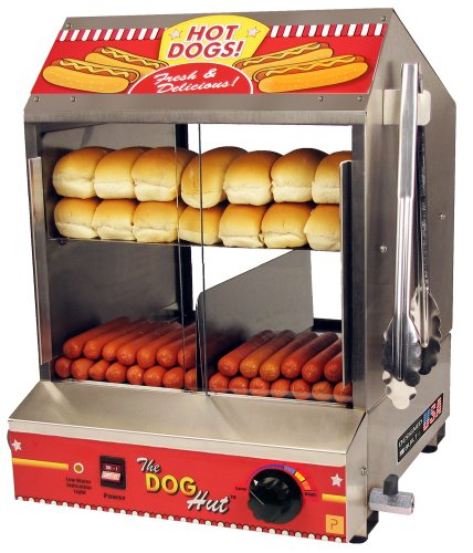 Read About The Dog Hut Hotdog Steamer and Merchandiser