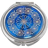 Buytra Fahsion Cosmetic Compact Magnifying Travel Handbag Pocket MakeUp Mirror