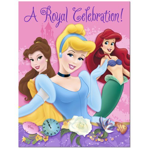 Disney Princess Royal Celebration Invitation and Thank You Cards (1AMS2494)