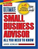 img - for Ultimate Small Business Advisor (Ultimate Small Business Advisor: All You Need to Know) book / textbook / text book