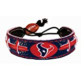 Houston Texans Team Color NFL Football Bracelet