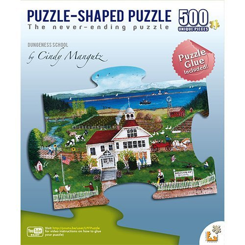 Dungeness School Puzzle Shaped 500 Piece Puzzle by LPF Limited - 1
