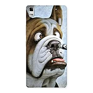 Delighted Big Face Dog Back Case Cover for Lenovo K3 Note