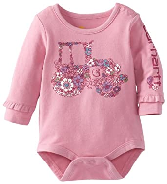 Amazon Carhartt Baby Girls Newborn Long Sleeve Body