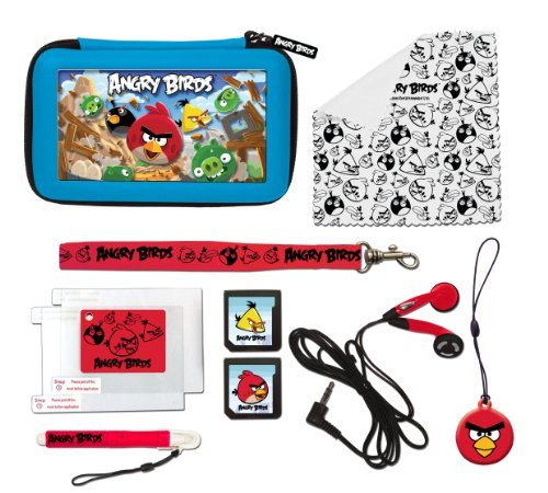 Goto Angry Birds Stereoscopic 3D Gamer Accessory Set 11pc (Nintendo 3DS/DSi) Details