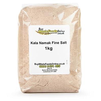Kala Namak Fine Salt 1kg from Buy Whole Foods Online Ltd.