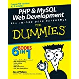 PHP and MySQL Web Development All-in-one Desk Reference For Dummiesby Janet Valade