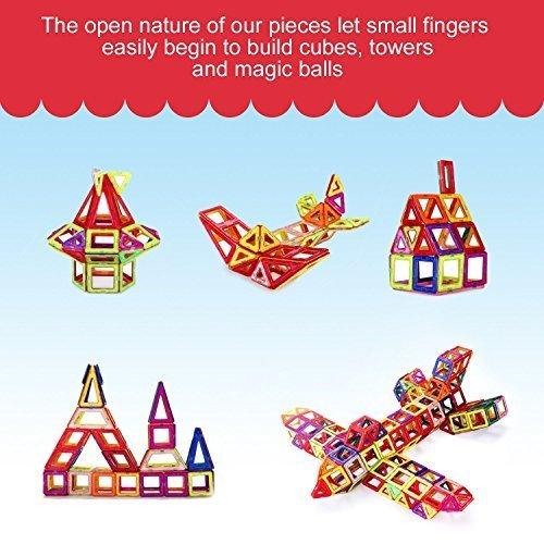 MagicKIDS-Magnetic-Building-BlocksStacking-Set-Versatility-Vehicle-Kit-Starter-Inspire-Kit-Preschool-Skills-Educational-Game-Construction-Great-Gift-for-Kids-32pc-rainbow2