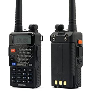 (2013 Latest Version) BaoFeng UV-5RE Plus UV 5R+ Dual-Band 136-174/400-480 MHz FM Ham Two-way Radio, Improved Stronger Case, More Rich and Enhanced Features