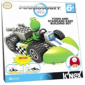 Nintendo Yoshi and Standard Kart Building Set