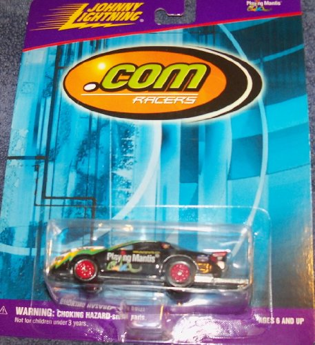 Johnny Lightning .Com Racers Playing Mantis 1:64 Die-cast Car