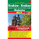 Krakow & Wadowice (Crakow, Poland) 1:10,000 Pocket Street Map, laminated FREYTAG