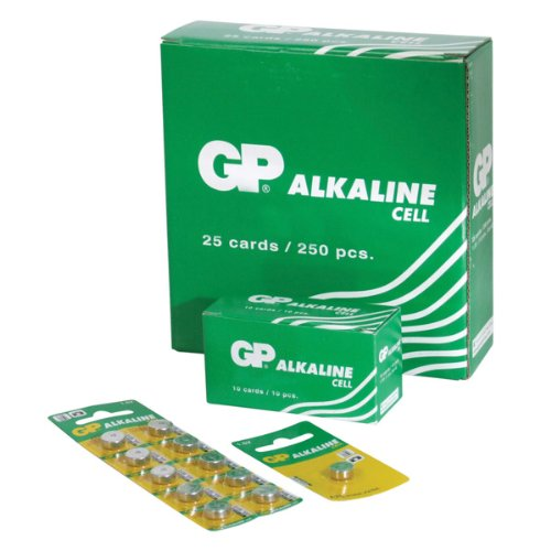 GP Batteries GPA76-C1 Alkaline Knopfzelle (Card von 1)