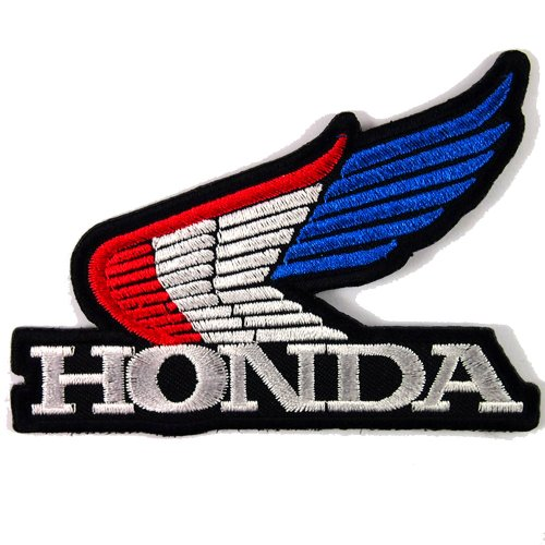 HONDA WING RACING MOTORCYCLES BIKER JACKET VINTAGE EMBROIDERED IRON ON PATCHES 0