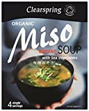 Clearspring Organic Instant Miso Soup 40 g (Pack of 2)