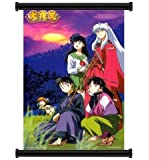 """Inuyasha Anime Fabric Wall Scroll Poster (16"""" x 23"""") Inches"""